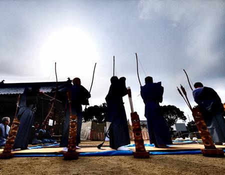 百々手祭りの写真