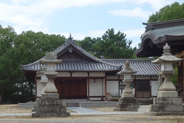 賀茂神社の長床の写真